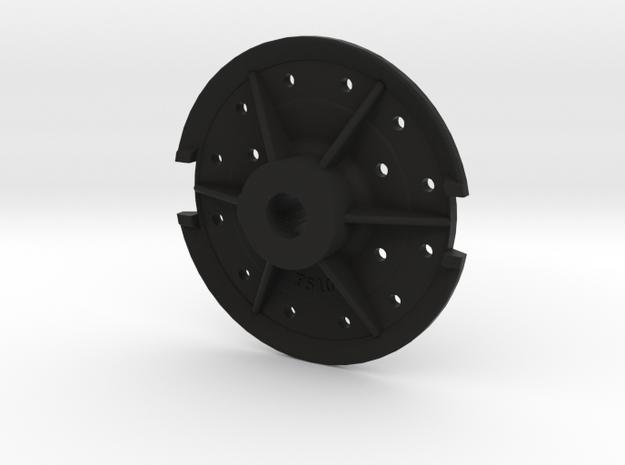 Climax Gear Hub 510 - 1-16th Scale in Black Natural Versatile Plastic
