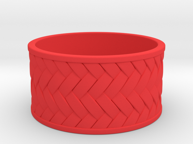 Woven Ring 3d printed