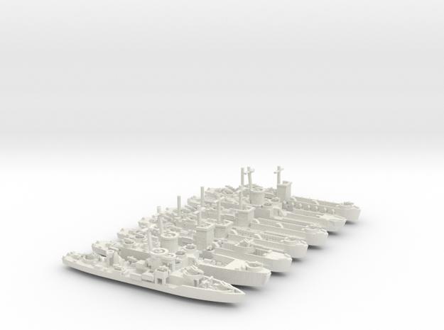 LCI(L) Various 1/600 scale 3d printed