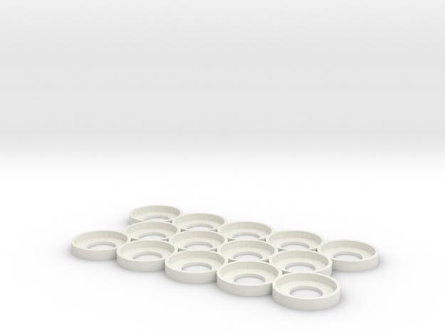 Citadel Bottle Holder 5x3 in White Natural Versatile Plastic