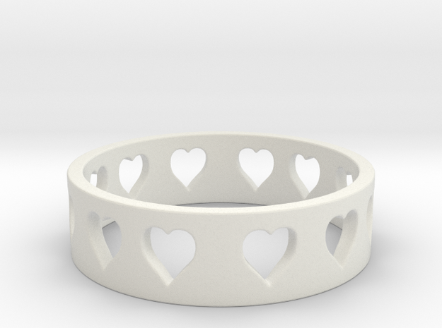 All Hearts Ring Size 7 3d printed