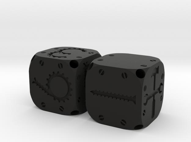Tinker Dice (Plastic) 3d printed