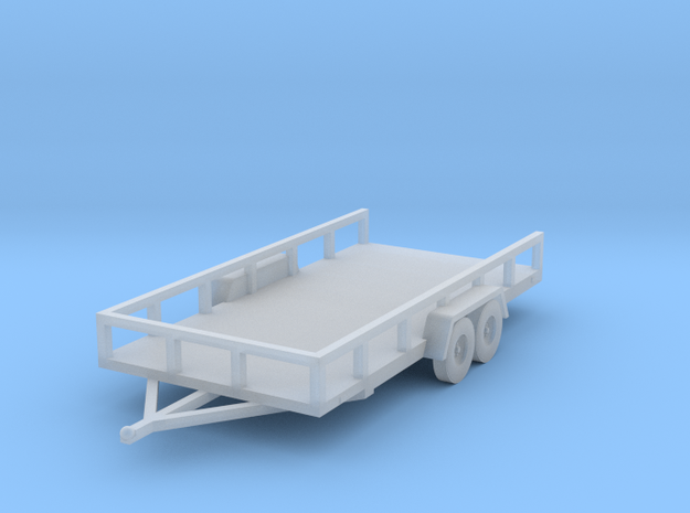 Flat Bed Trailer HO Scale