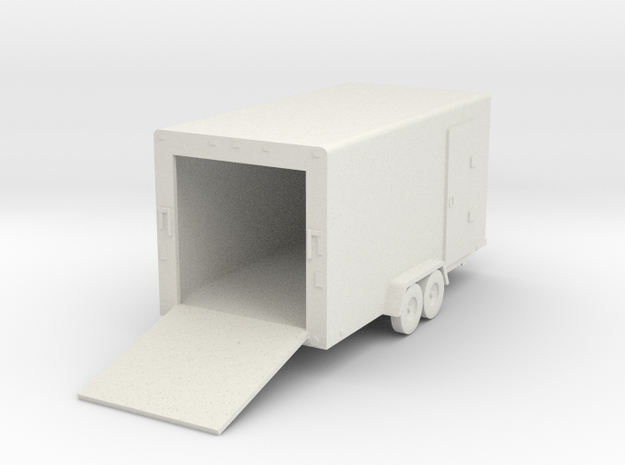 Cargo Trailer HO Scale 3d printed