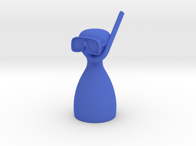 Diving Piece 3d printed