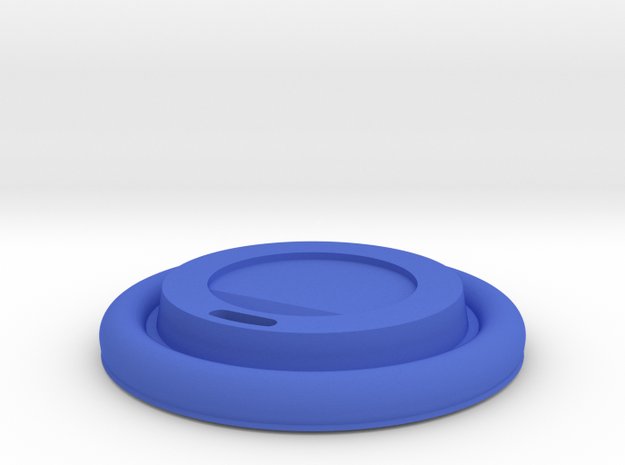 BJD Doll Paper Coffee Cup - Lid Only 3d printed