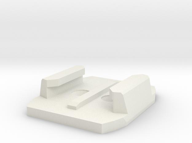 GoPro clamp mount - screws - lightened 3d printed