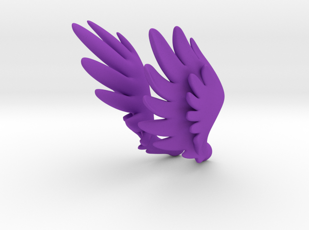 Bjd Feather Wings for Magnets  3d printed