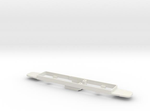 OEG Rastatter Beiwagen Bodenplatte 3d printed