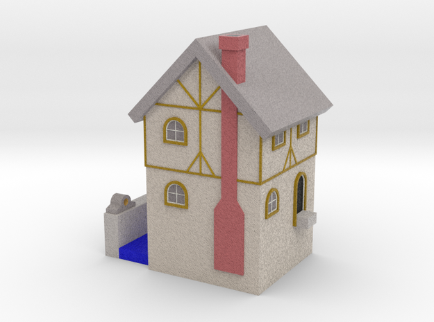 Water Mill - Zscale in Full Color Sandstone