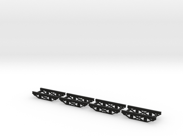 HOn30  10ft industrial chassis steel  3d printed