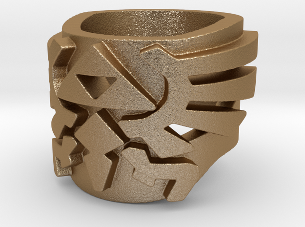 Size 7 closed Zelda ring 3d printed