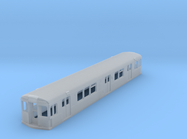 N SEPTA Kawasaki BIV Subway Double-End Body Shell