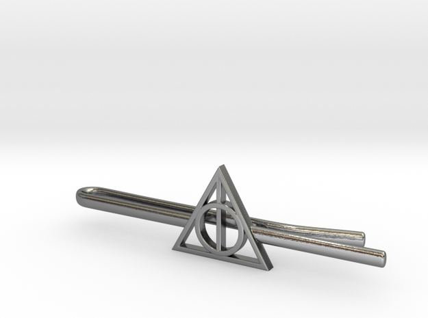 Harry Potter: Deathly Hallows Tie Clip 3d printed