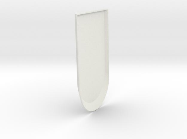 Iron Man MkIII - Forearm-03 in White Natural Versatile Plastic