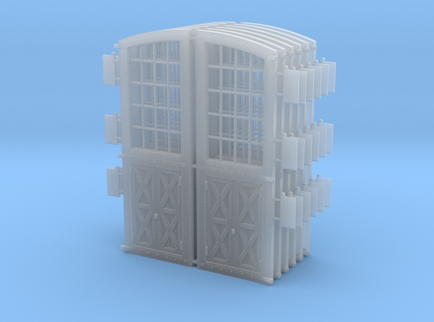 DSP&P Gunnsion Roundhouse Door set O 3d printed