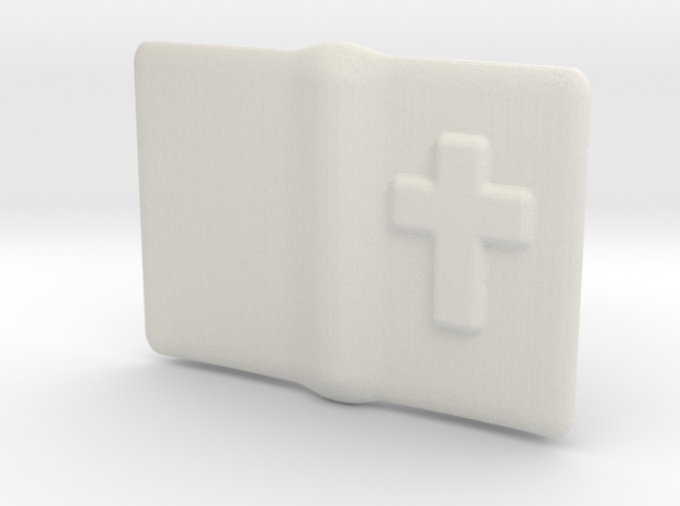 "Small open Bible for 6"" to 12"" figures 3d printed"