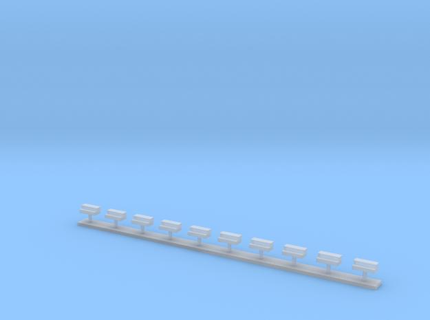 Kompressorkisten 10x in Smooth Fine Detail Plastic
