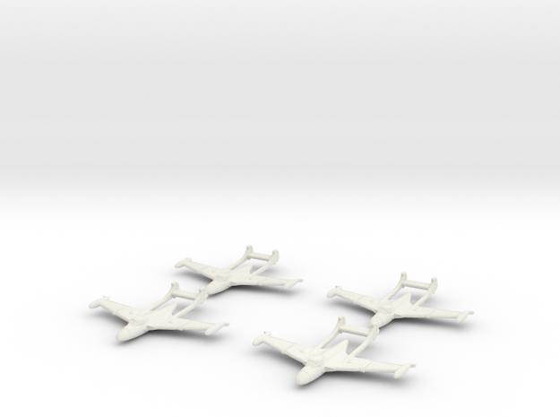 1/300 D.H.112 Sea Venom (x4) 3d printed