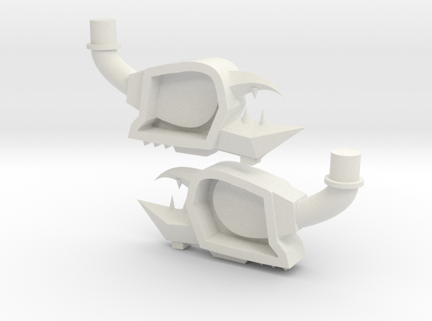 naut-claw in White Natural Versatile Plastic
