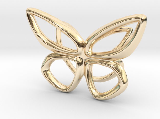 Cepora Butterfly Pendant 3d printed