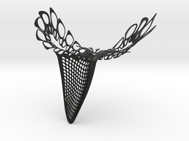 Party Mask 'NeverMore' 3d printed