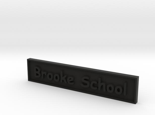1:24 School Sign 3d printed