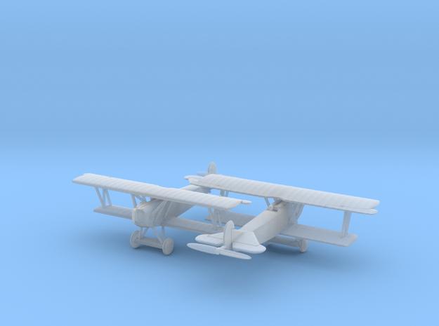 1/144 Fokker D VII x2 3d printed