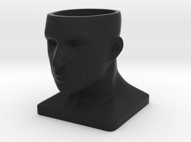 Human Face Pot V1 - H44MM 3d printed