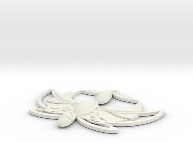 """1"""" Princess Tutu Pendant 3d printed Trial render of Tutu's pendant."""