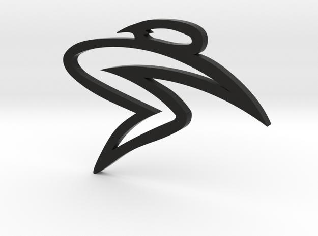 SantaCruz flat logo 3d printed