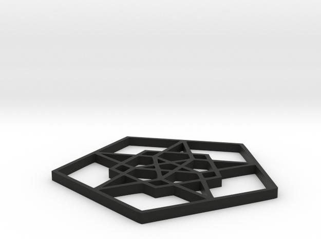 Penta nova - 2 inch 3d printed