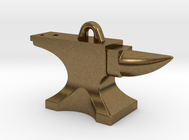 Anvil Pendant 3d printed