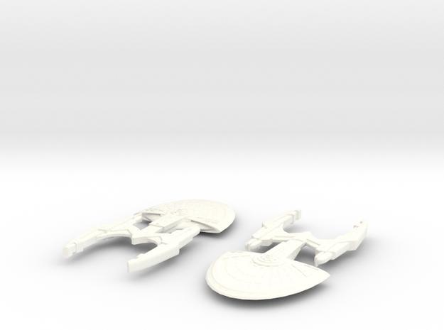 USS Huygens (Cassini Class) 3d printed