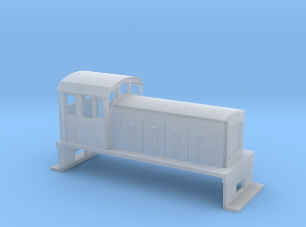 DS Locomotive, New Zealand, (HO Scale, 1:87) 3d printed
