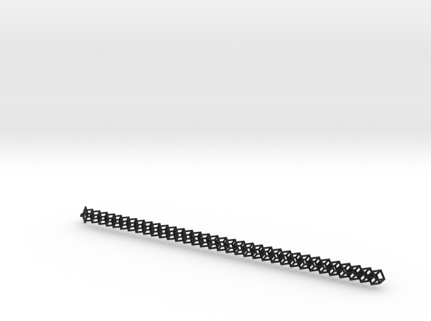Cubechain (49mm³ cubes) in Black Strong & Flexible
