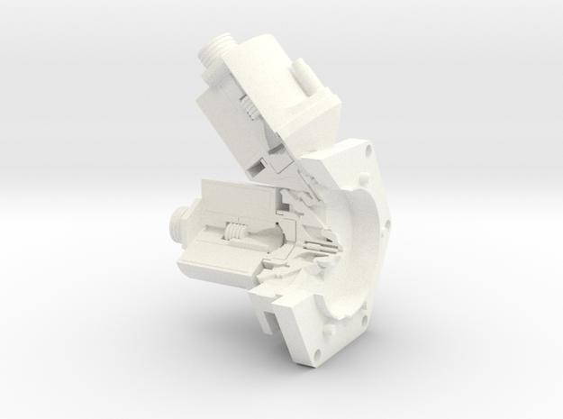 Apollo RCS Engine Head Cutaway 1:1