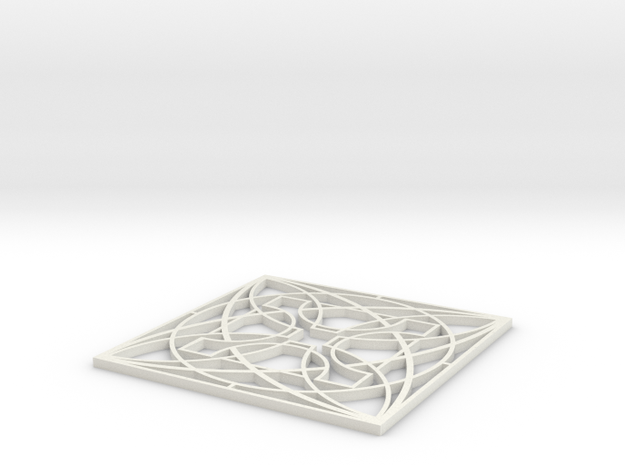 Wright Modern Coaster: Luxfer 3d printed