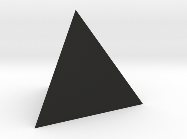 TETRAHEDRON ELEMENT Dim Conv 3d printed