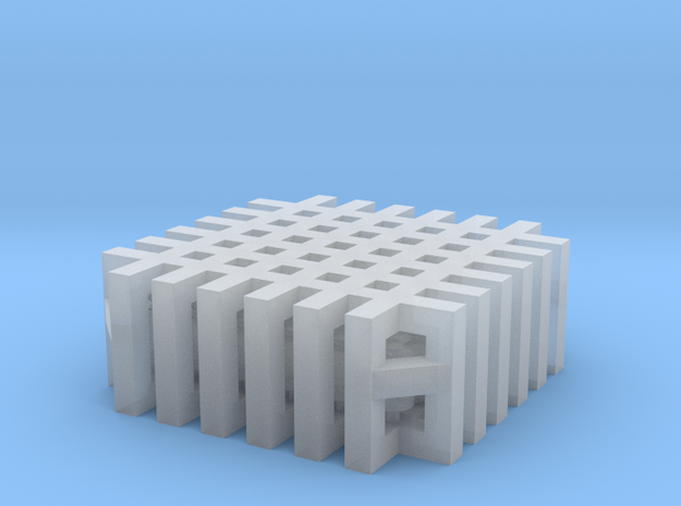 Milkcans - set of 36 - Zscale in Smooth Fine Detail Plastic