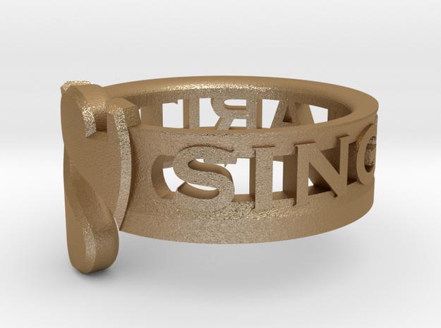 SU2013 Ringsize6 3d printed