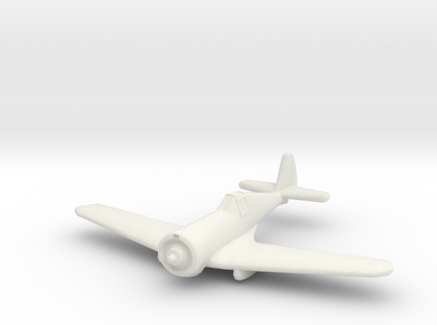 1/200 Curtiss-Wright CW21 in White Natural Versatile Plastic
