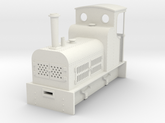 On18/O9 Bagnal P51 petrol loco 3d printed