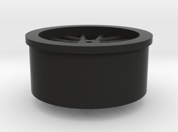 Wheel - miniz size -1.1mm shaft 3d printed