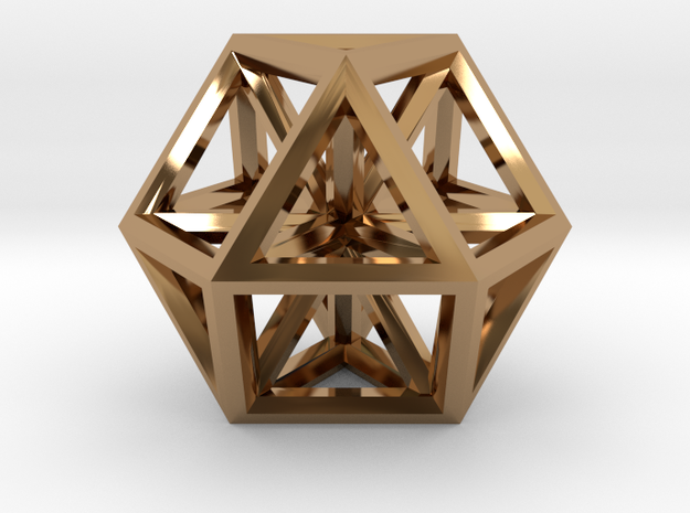 Small Vector Equilibrium 3d printed