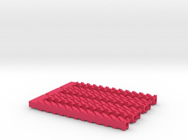 Borromean hairpins 3d printed