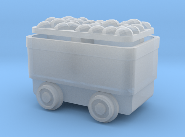 Ore Cart - NN3scale in Smooth Fine Detail Plastic