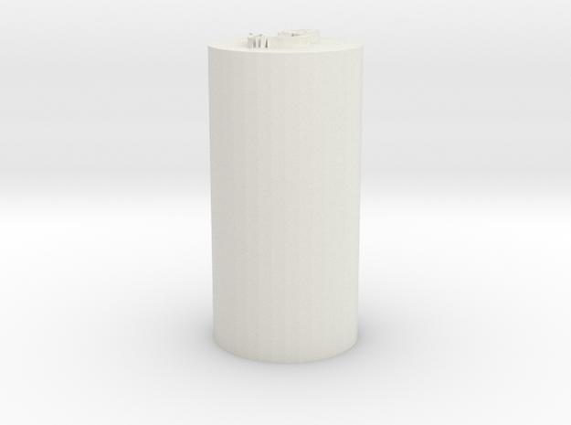 Tulip Blade Plug (repaired) in White Natural Versatile Plastic