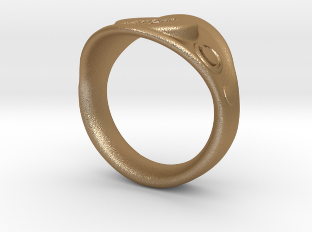 Captain Marvel Ring 3d printed