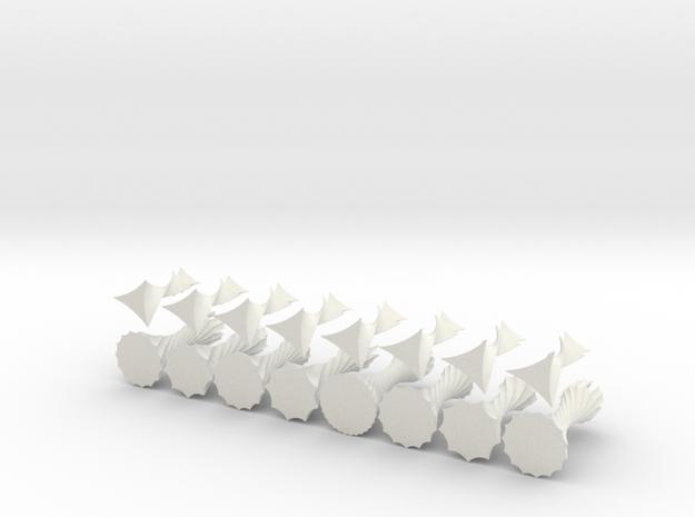 ParametricChessSetShapeways 3d printed